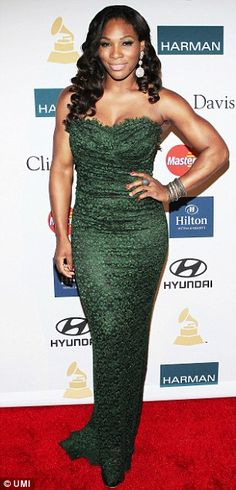 Women's World Number 1, Serena Williams, often flaunts fabulous jewellery both on and off the court