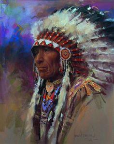 harley brown paintings   Brown, Harley, 1939-: Sarcee Sky
