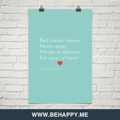 Waar is den tijd.  Best friends forever, never apart, maybe in distance, but never at heart. by Raesson Est. 2007 #48365