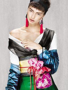 Vogue Brazil : Gueixa Reloaded (Geisha Reloaded)