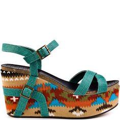 Sandals I Love #summer #sandals       Michael Antonio    Genoa - Green Rep Pu