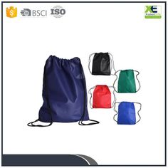 Newest Arrvial Wholesale Cheap Nylon Mesh Drawstring Bags Promotional Promotional Bags, Non Woven Bags, Drawstring Backpack, Bags Sewing, Shopping Bags, Mesh, Stuff To Buy, China, Fashion
