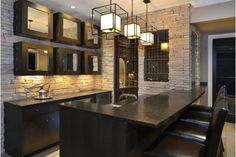 Basement Bar and Wine Cellar