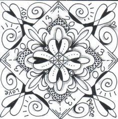 My signature motif, loops and hearts.