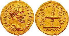 Septimije Sever, 193.-211., rođen u Africi,žena mu je kćer svećenika iz Sirije, solarna božanstva (istok) - zrake sunca oko glave