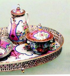 Just a little tea set would be nice...
