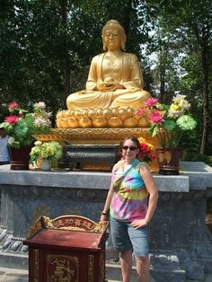 golden Buddha in Xian China