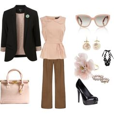 """""""Great work outfit!!!"""" Inspiration- different colours?"""