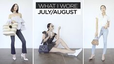 July & August | What I Wore | Chriselle Lim