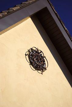 da Vinci Details iron works, designed for round window.  www.davincidetails.com