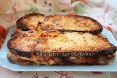 Come utilizzare il pane raffermo: Torta di Pane salata blog il mio saper fare No Salt Recipes, Cooking Recipes, Pizza E Pasta, My Favorite Food, Favorite Recipes, Brunch, Antipasto, Stale Bread, Street Food