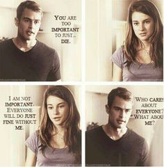 Quotes movie divergent book Ideas for 2019 Divergent Memes, Divergent Hunger Games, Divergent Fandom, Divergent Trilogy, Divergent Insurgent Allegiant, Insurgent Quotes, Divergent Quotes Love, Tris And Tobias, Tris And Four