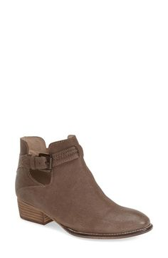 Free shipping and returns on Seychelles 'Tourmaline' Bootie (Women) at Nordstrom.com. Curvy side cutouts and a sleek buckle strap lend a mod update to a chic almond-toe boot set on a low block heel.