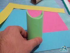 Los tubos de papel higiénico son uno de los materiales para manualidades más recurrentes en las aulas. Hoy os muestro esta interesant...
