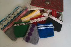 New coin purses, make up bags and pencil cases by Spectacled Chicks.