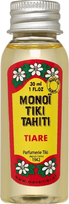 Monoi TIKI au Tiaré....love love love love love love love!!!!!