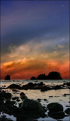 Olympic National Park Coast, Washington State