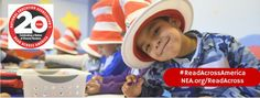 The National Education Association is building a nation of readers through its signature program, NEA's Read Across America. Now in its 20th year, this year-round program focuses on motivating children and teens to read through events, partnerships, and reading resources.