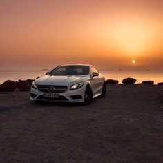 The S550 Coupe at home in Ibiza.   #MBphotocredit @rvt3    #mercedes #benz #instacar #luxury #germancars #carphotography #carsofinstagram #ibiza #beach #sclass #scoupe #coupe #s550