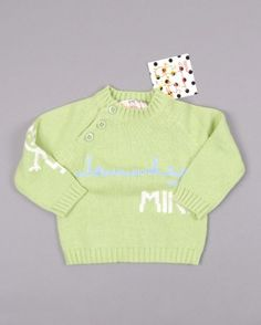 Jersey de punto marca Olaire Infantil  http://www.quiquilo.es/catalogo-ropa-segunda-mano/jersey-de-punto-marca-olaire-infantil-de-color-verde.html