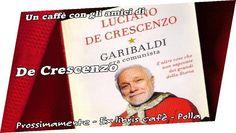 """IL GRUPPO """"Un Libro Sospeso"""" presenta:  """"I Libri sono Pericolosi? ...e Noi Li Recitiamo"""". Primo appuntamento a Dicembre con la coppia Prato Carmine(Masaniello), Raffaele Cammardella(De Crescenzo). Dal libro """"Garibaldi era comunista"""" reciteranno """"Due chiacchiere con Masaniello"""". Tutti coloro che volessero recitare libri preferiti, possono prenotarsi in libreria, o telefonando a 0975390533. Buon divertimento."""