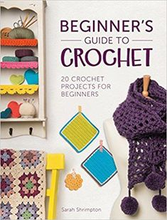 I need this. I can't get my head around crochet at all. Maybe it'll help.   Beginner's Guide to Crochet: 20 crochet projects for beginners: Amazon.co.uk: Sarah Shrimpton: 9781446305232: Books  http://amzn.to/2Hdf5rX