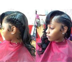 New hair styles weave sew ins jade 44 Ideas Side Swept Hairstyles, Trendy Hairstyles, Weave Hairstyles, Girl Hairstyles, Wedding Hairstyles, Updo Hairstyle, Black Hairstyles, Ponytail Hairstyles, Long Curly Hair