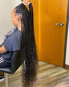 Box Braids Hairstyles For Black Women, Cute Braided Hairstyles, Black Girl Braids, Braids For Black Women, African Braids Hairstyles, Braids For Black Hair, Weave Hairstyles, Dreadlock Hairstyles, Wedding Hairstyles