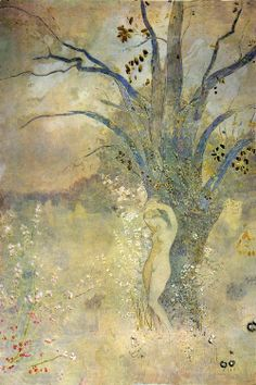 Odilon Redon, French painter and pastelist 'The Spring (Le Printemps)' Odilon Redon, Gustav Klimt, Museum Of Fine Arts, French Artists, Art Blog, Oeuvre D'art, Les Oeuvres, Art History, Painting & Drawing
