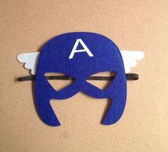 маска супергероя-Супермен, бэтмен, железный человек-Паук, халк, тор, капитан