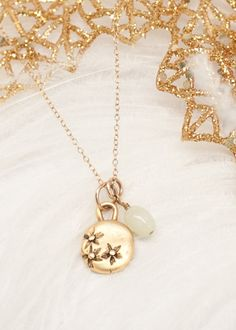 gold wildflower necklace | Lisa Leonard Designs