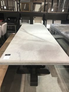 Stone Countertops, Restoration Hardware, Cribs, Dining Table, House, Shopping, Furniture, Ideas, Home Decor