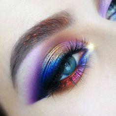 When creating color makeup, did you ever think . - Makeup looks - Eye Makeup Peach Eye Makeup, Neutral Eye Makeup, Bridal Eye Makeup, Smoky Eye Makeup, Colorful Eye Makeup, Simple Eye Makeup, Eye Makeup Tips, Makeup Blog, Makeup Inspo
