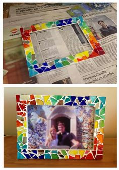 Image result for gaudi detail de collages Diy Craft Projects, Projects For Kids, Diy Crafts, Mirror Mosaic, Mosaic Art, Gaudi Mosaic, Collages, 2nd Grade Art, Antoni Gaudi