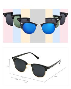 b0f2900406377 GUVIVI Neutral Retro Border Polarized Sunglasses     You can find more  details by visiting the image link.