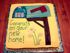 Cakes: Housewarming Party Cake                              …