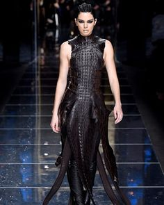 Kendall Jenner in finale look of Balmain Fall-Winter 2017 Paris Fashion Week #balmain #kendalljenner #pfw #pfwfw17  via NUMERO THAILAND MAGAZINE OFFICIAL INSTAGRAM - Celebrity  Fashion  Haute Couture  Advertising  Culture  Beauty  Editorial Photography  Magazine Covers  Supermodels  Runway Models