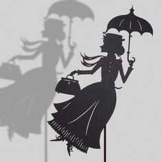 Mary Poppins (Isabella-Art-Paper-Cut)