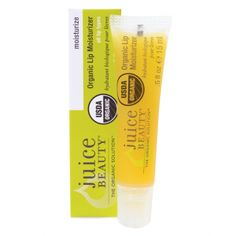 Juice Beauty Organic Lip Moisturizer - smells very citrus which I like, however it just doesn't last very long nor does it hydrate. Overpriced, overhyped.