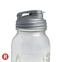 Make Mason jars more useful with reCAP®! This multi-functional, reusable cap fits Regular mouth Mason jars. Perfect for on-the-go drinks and snacks, reCAP POUR can be used for convenient storage and