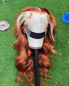 Ponytail Styles, Wig Styles, Lace Front Wigs, Lace Wigs, Creative Hair Color, Colored Wigs, Colored Hair, Natural Hair Styles, Long Hair Styles
