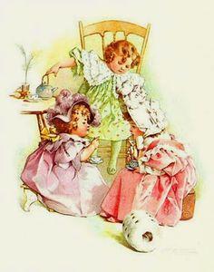 Soloillustratori: Maud Humphrey illustrateur (Claudia)