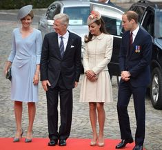 Duchess Kate: The Cambridges Commemorate the First World War in Belgium