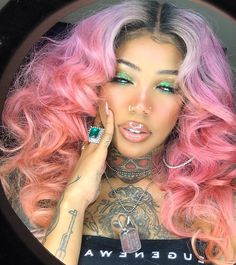 Curly Hair Styles, Natural Hair Styles, Creative Hair Color, Gorgeous Hair Color, Creative Hairstyles, Afro Hairstyles, About Hair, Beauty Make Up, Black Girl Magic