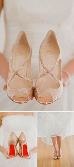 Oh! The perfect wedding shoes!