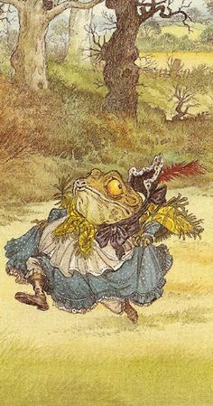 Fact:  I love all children's books about frogs and toads.