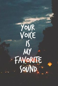 We all have this favorite sound
