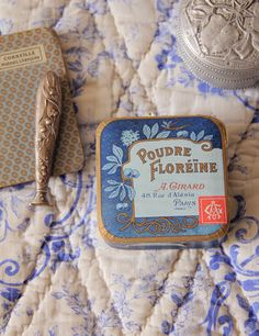 Poudre Floreine*パリの夜のアンティークパウダーボックス - O Bel Inventaire-Bis*アンヴァンテール・ビス*