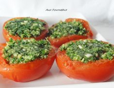 Tomates a la provençale traditionnelles Tomates a+ Healthy Summer Recipes, Quick Dinner Recipes, Healthy Drinks, Healthy Food, Evening Meals, Cheap Meals, Light Recipes, Entrees, Food And Drink