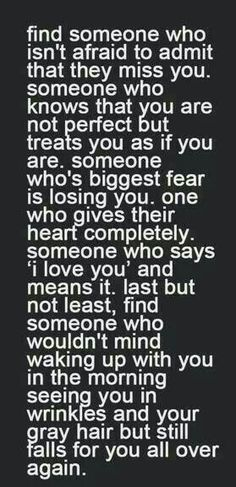 This is how I feel about you baby...You are everything I wanted and all I need...